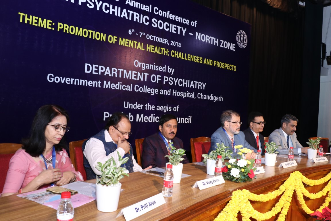 43rd Annual Conference of North Zone Indian Psychiatric Society