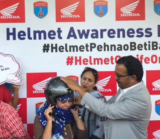 #HelmetOnLifeOn