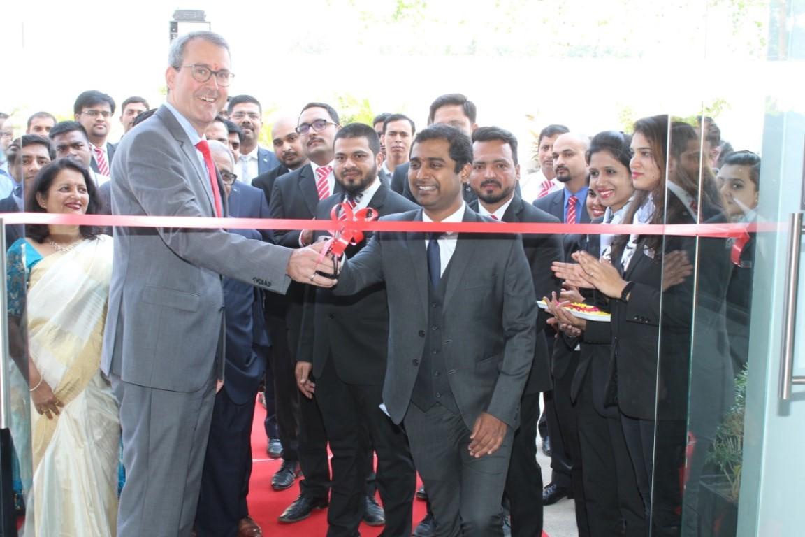 Mercedes-Benz bolstered its presence in Aurangabad