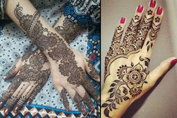 Karva Chauth Mehendi Designs For Hands Images Photos