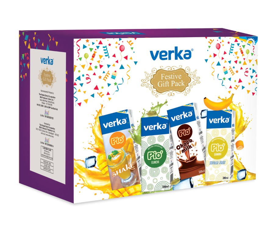 Gift packs for festive season by Verka