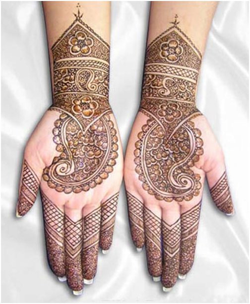 Best Karva Chauth Mehendi Patterns 2018