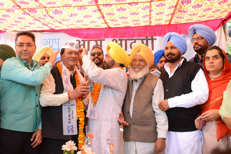 Harmohan Dhawan Join AAP