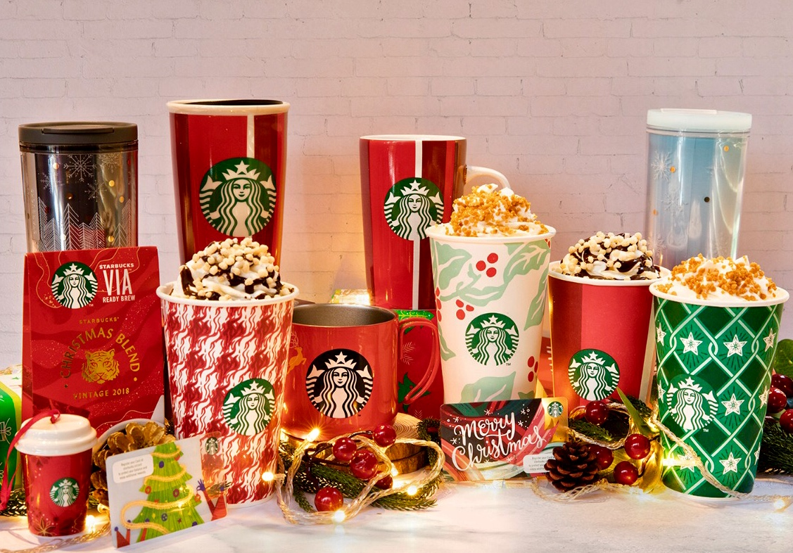 Starbucks Brings Christmas Magic