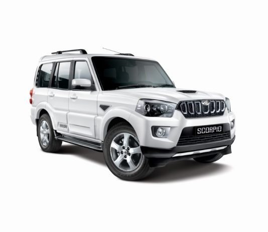Mahindra Drives in the New S9 Variant of Scorpio