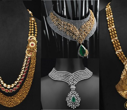 Popular necklace designs for Indian Wedding
