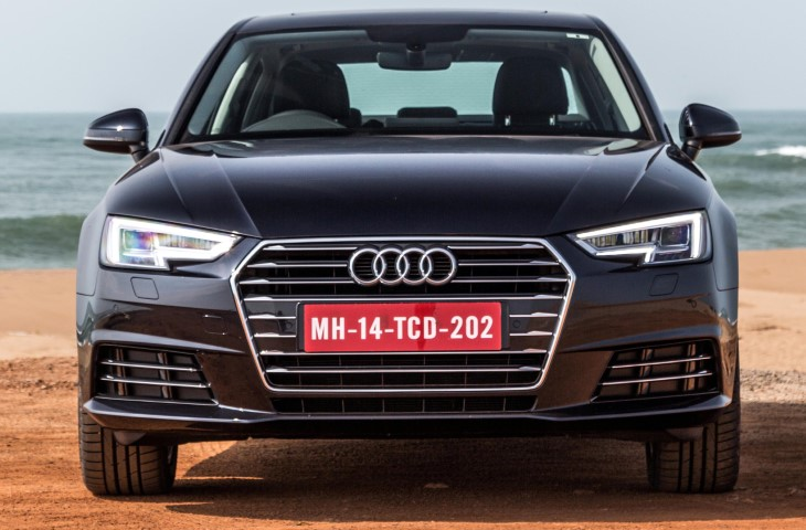 Test drives for all-new Audi A4 35TDI