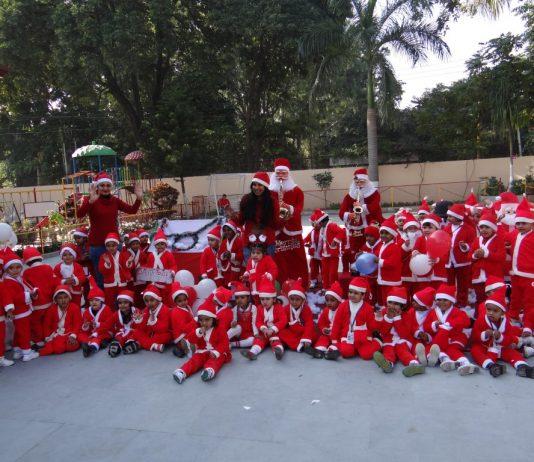 Christmas Celebration at Adarsh Public Smart School