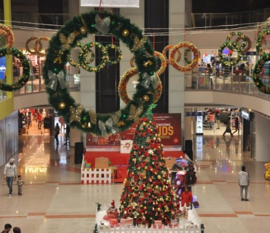 Xmas kids carnival starts at Bestech Square Mall