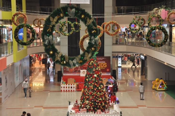 Xmas kids carnival starts at Bestech Square Mall