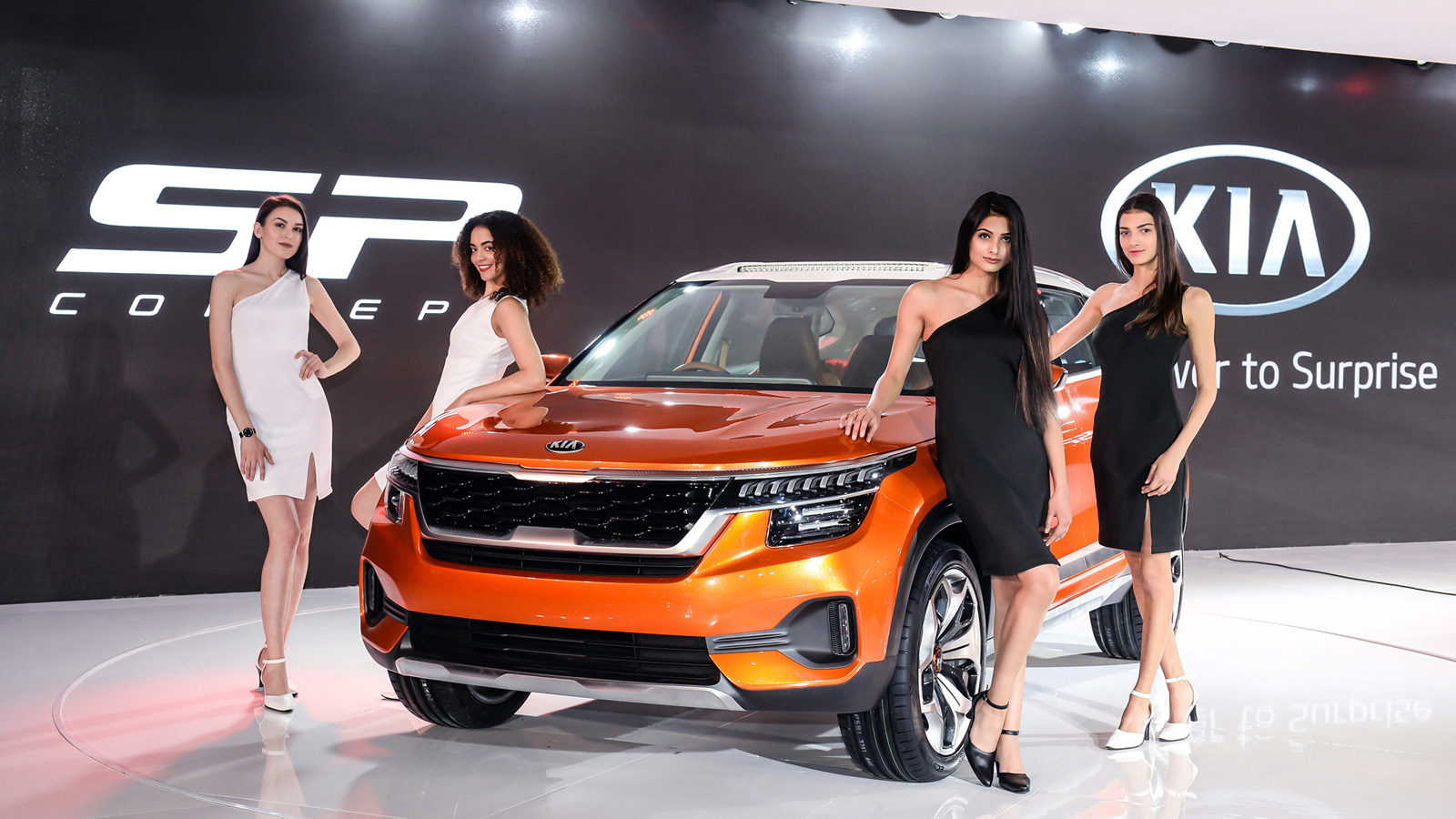 The first KIA SP2i to be launched in India in 2019