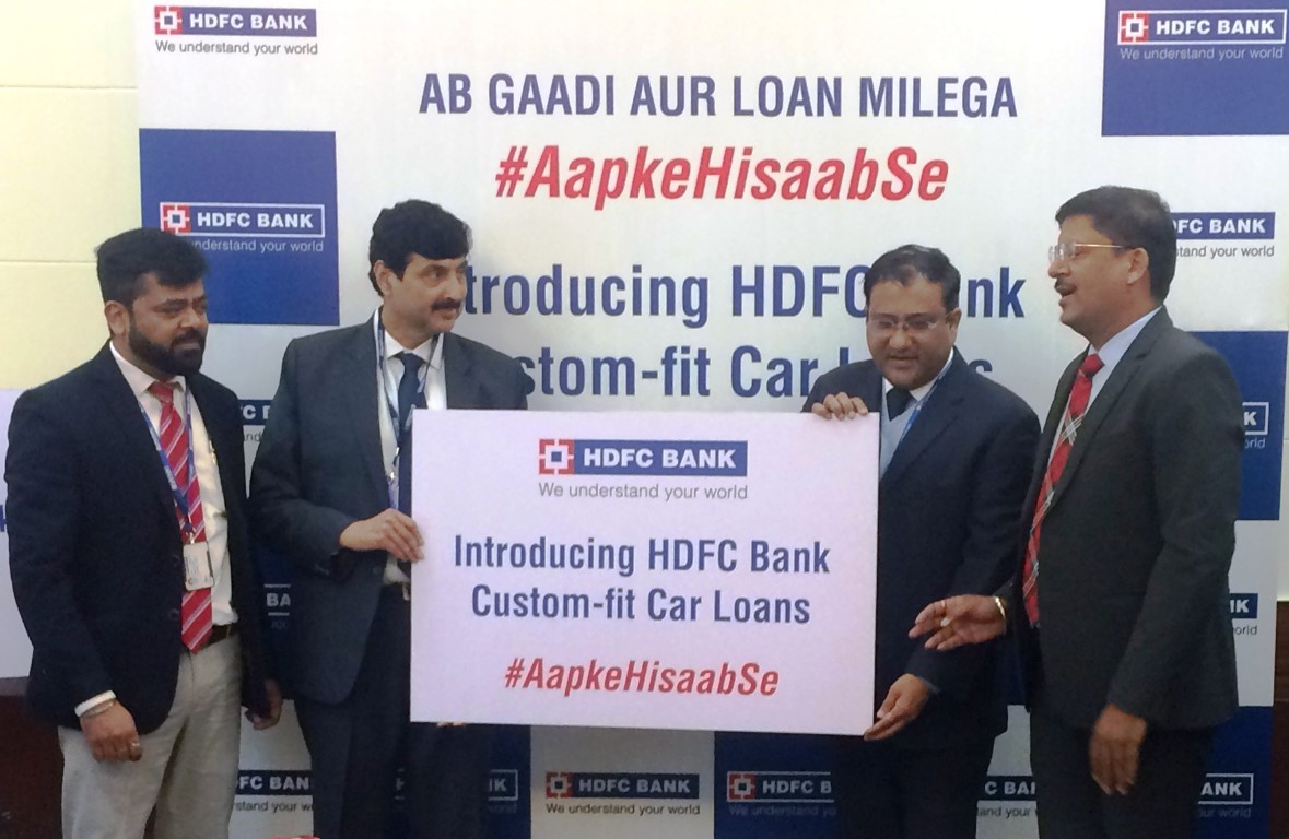 HDFC Bank launches custom-fit car loans 2 Options