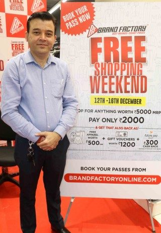 Brand Factory invites Zirakpur to experience 'Free Shopping Weekend' for the first time