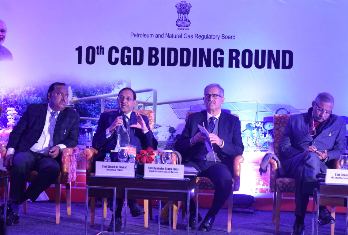 10th City Gas Distribution (CGD) Bidding Round Roadshow held at Chandigarh