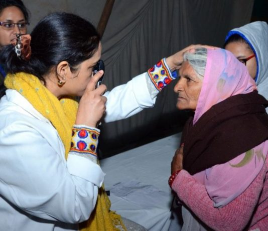 27th, four-day, Free Eye Check-up camp begins in Dera Sacha Sauda's, Sirsa Ashram