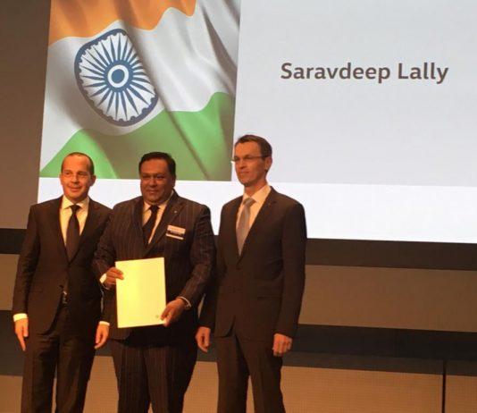 Volkswagen awards the prestigious Diamond Pin to Lally Motors