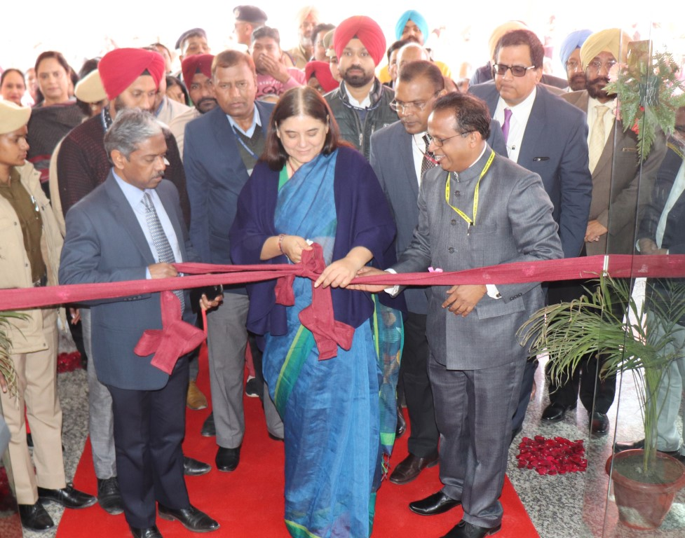 NIPCCD inaugurated by Maneka Sanjay Gandhi at Mohali