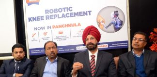Robot-assisted knee surgery launched in tricity