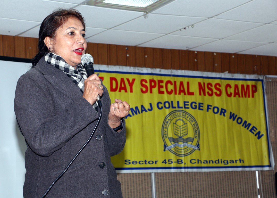 NSS Camp concludes at Dev Samaj College for Women