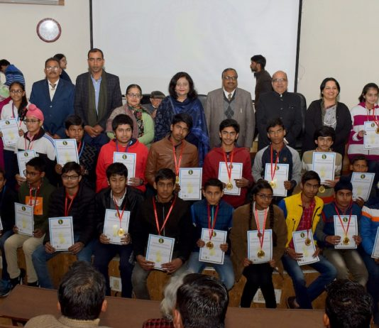 1st state camp conducted by Chandigarh Vigyan Parishad