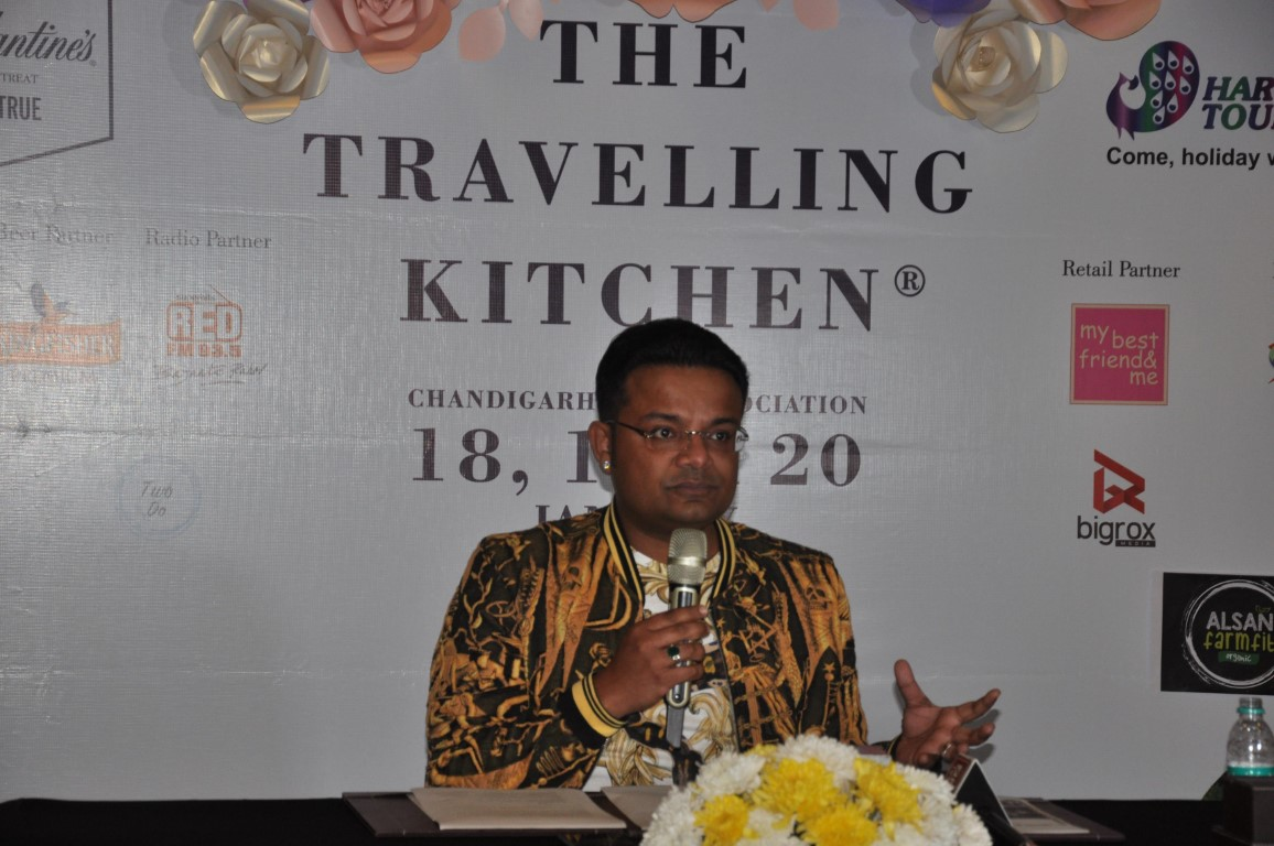 India's first travelling food showcase 'The Travelling Kitchen - Winter Garden' is all set to kick off in Chandigarh