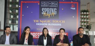 'Magic Touch' Unique ramp walk sees fashion bloggers turn ramp models