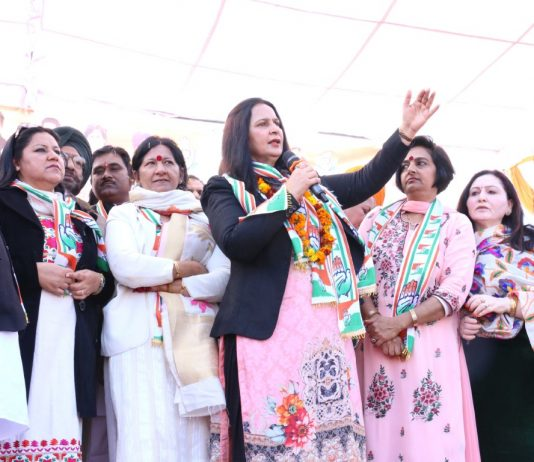 Navjot Kaur Sidhu holds her first Rally in Chandigarh