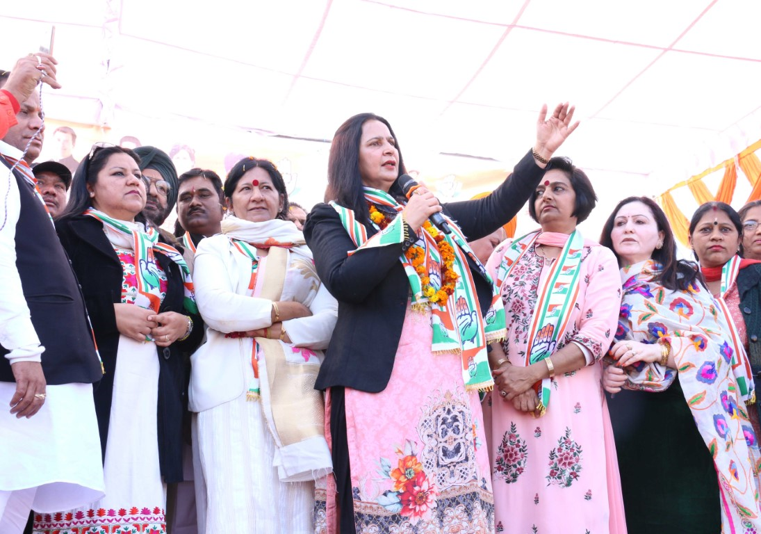 Navjot Kaur Sidhu holds her first Rally in Chandigarh