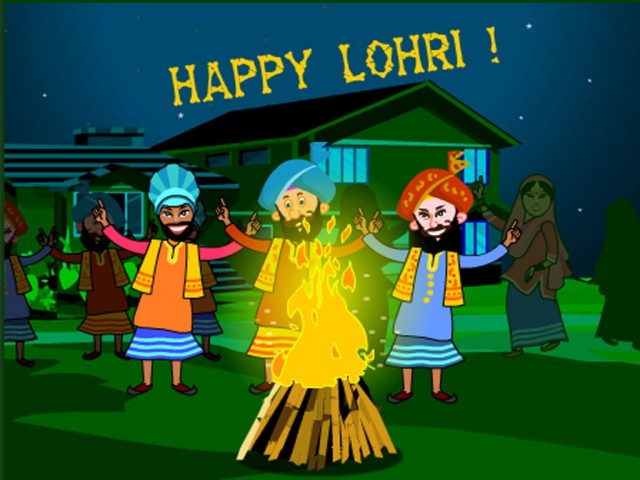 Happy Lohri 2019 Wishes Quotes SMS Messages Whatsapp Status DP Images Pics
