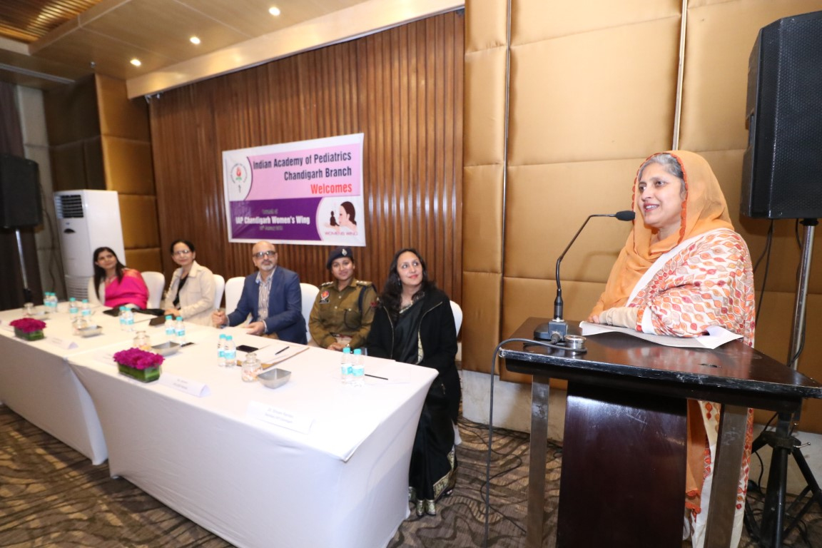 Indian Academy of Pediatrics, Chandigarh Chapter gets Women's Wing