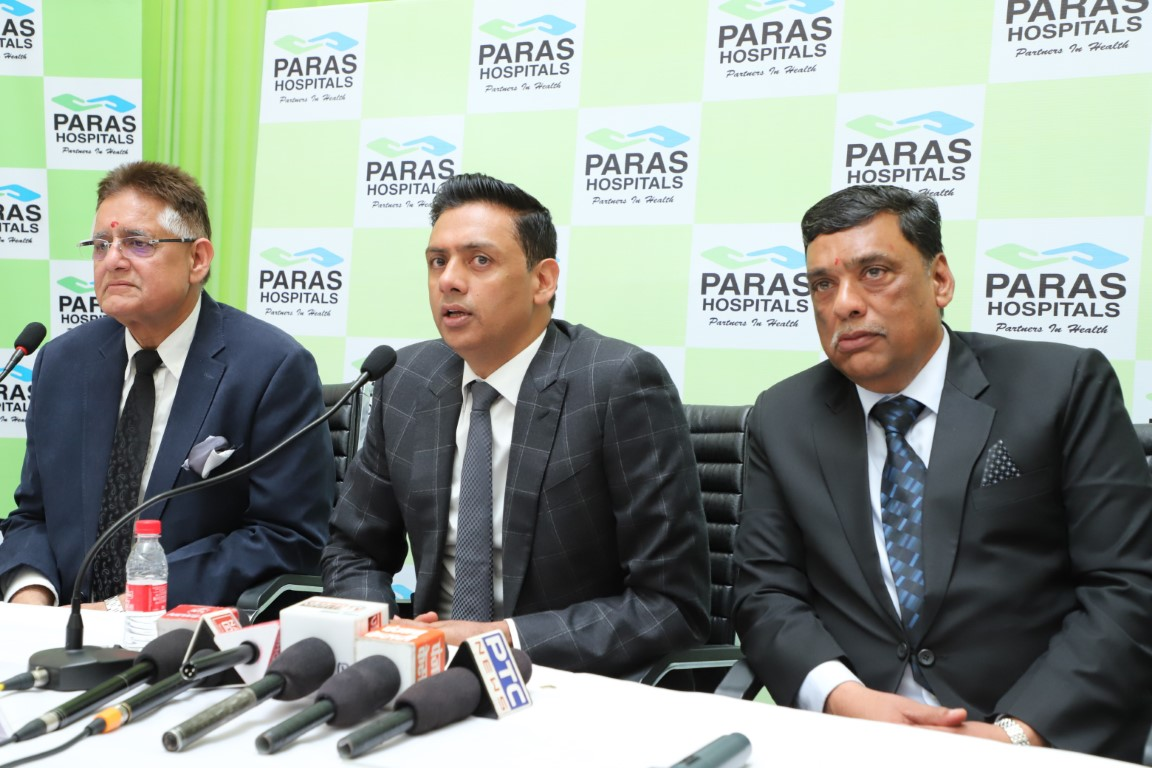 Panchkula's largest private hospital Paras Healthcare opens in the city