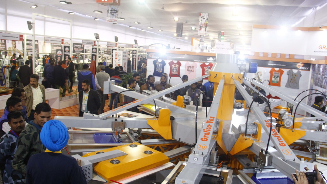 Large number of visitors witnessed on the 2nd & 3rd day of the GMMSA EXPO INDIA - 2019