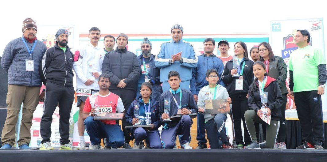 The Fifth Edition of Punjab Half Marathon held