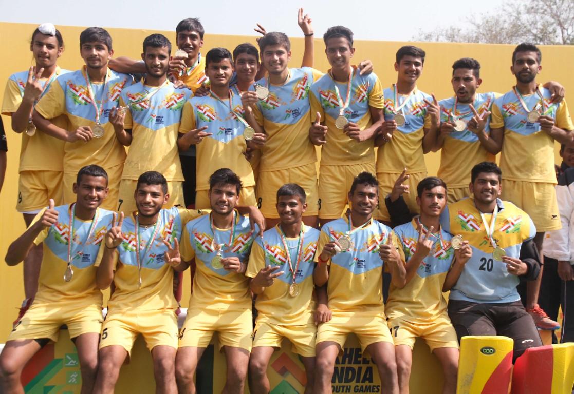 Haryana grab U-17 Boy's Hockey Gold at KIYG 2019