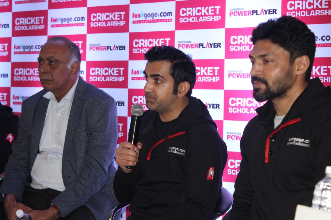 Gambhir launches Southern-leg of India's First Cricket Scholarship