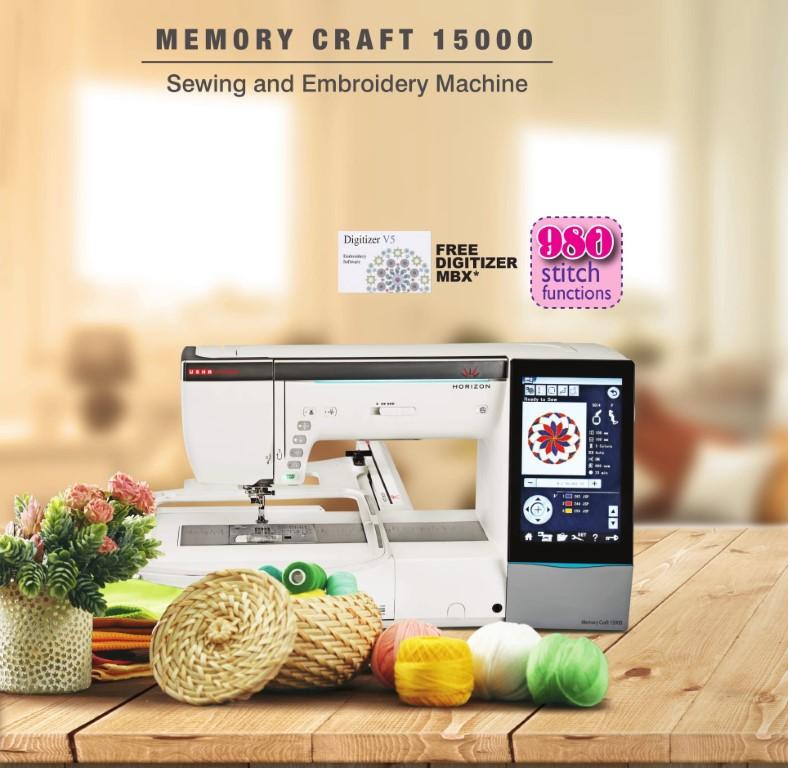 Usha International launches Memory Craft 15000 with Digitizer MBX