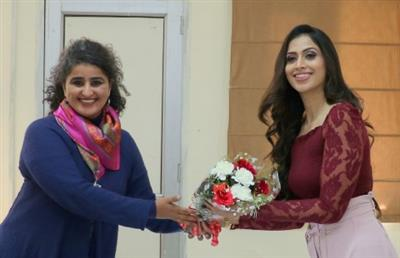 Special talk by Samaira Sandhu held at Punjab University