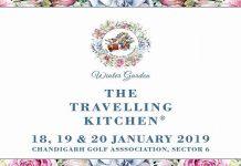 'The Travelling Kitchen - Winter Garden'