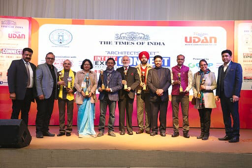 Architects, professionals felicitated for their excellence at INT-EXT Expo