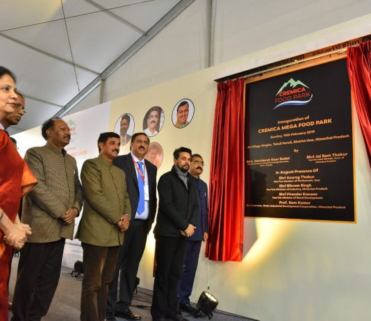 Cremica Food Park with largest Fruits & Vegetables processing line inaugurated