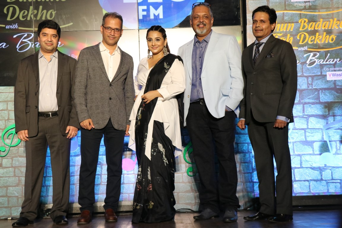 Dhun Badal Ke Toh Dekho launched by 92.7 Big Fm with Vidya Balan