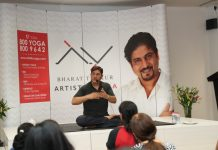 Incredible journey of Bharat Thakur from Yoga artist to Self Discovered Artist