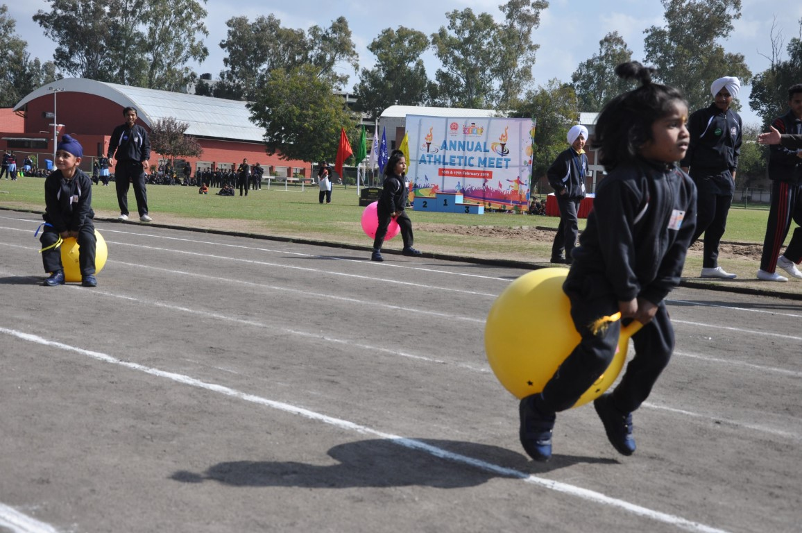 Paragon Kids school holds annual athletic meet