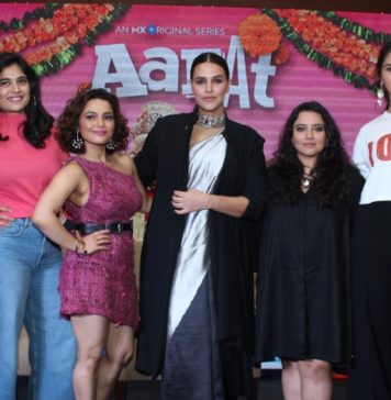 Neha Dhupia Launches The Trailer of Aafat – An MX Original Series in Chandigarh