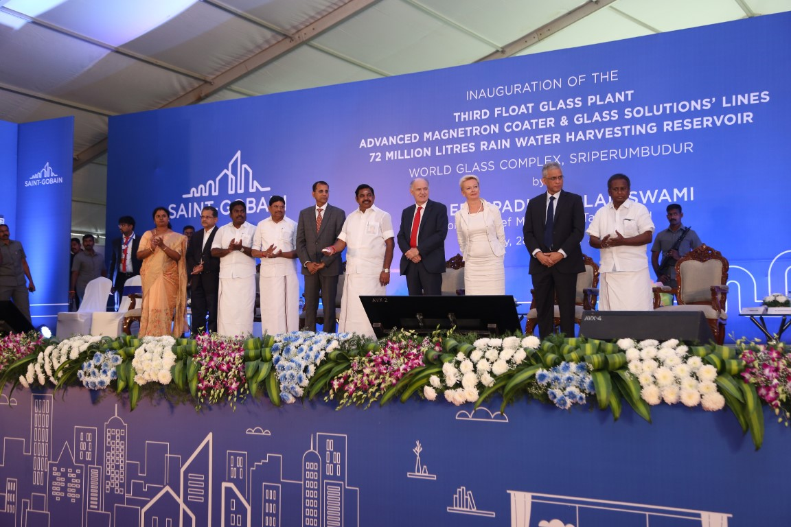 Saint-Gobain inaugurates three World Class facilities