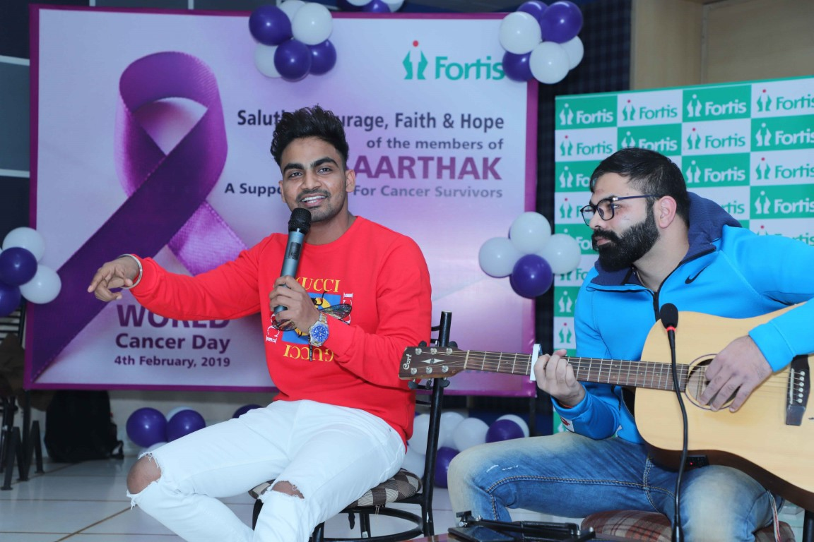 Cancer Survivors come together for a fun-filled session