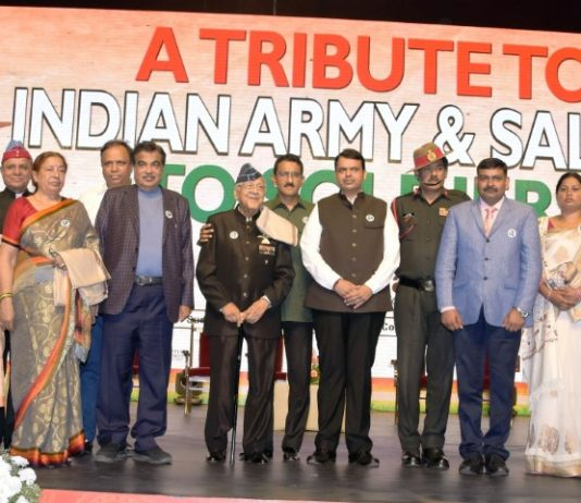 'Atharva Foundation honoured martyrs' families