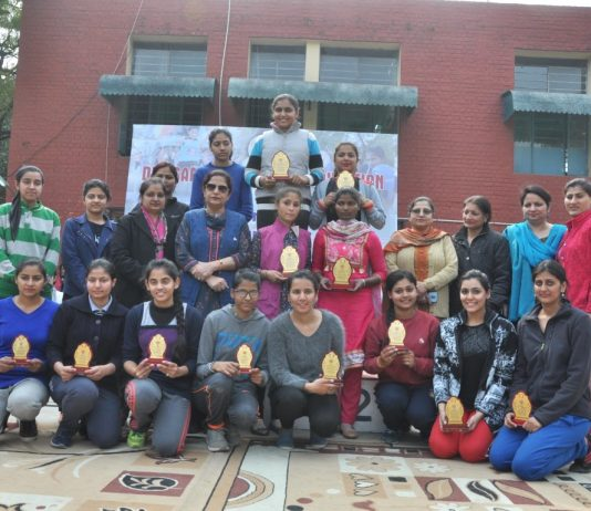 Sports Day of Dev Samaj College of Education: Girl students show athletic prowess