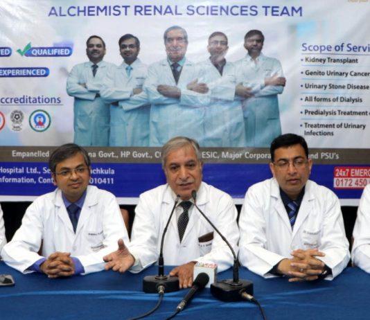 Alchemist Hospital completes 10 kidney transplants