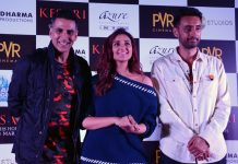 Akshay, Parineeti & Anurag Singh in Chandigarh to promote Kesari
